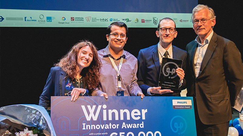 Bi/ond won the Philips innovation award